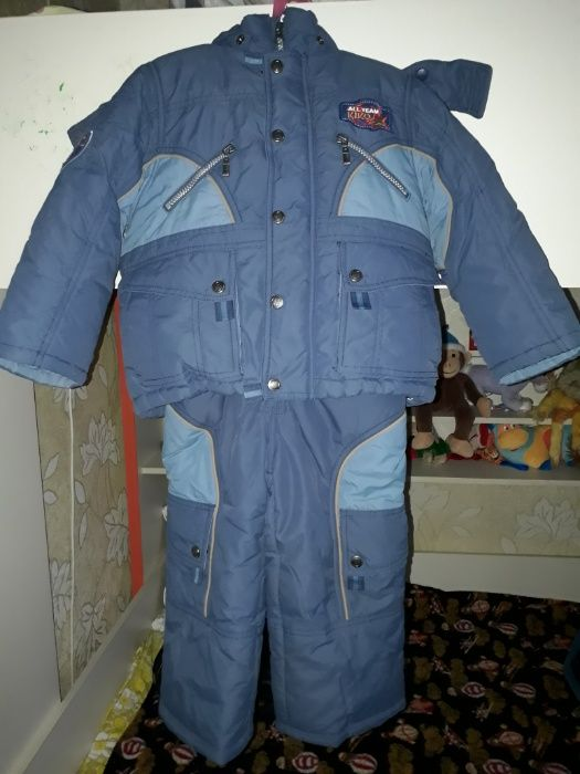 Зимний комбинезон на мальчика на 2-3 года Харьков - изображение 1