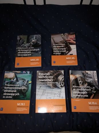 książki zawodowe mechanik