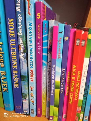 Książki z bajkami - od 3zl do 10zl