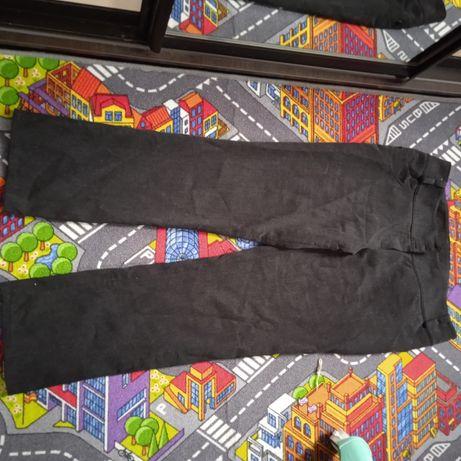 Утепленные брюки на флисе 54 размер