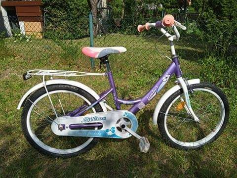 Rower 20 dla dziewczynki