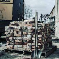 Rozbiorę budynki ze starej cegły