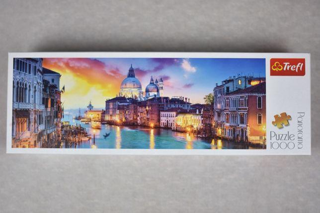 Puzzle 1000 Panorama Wenecji Boskie!