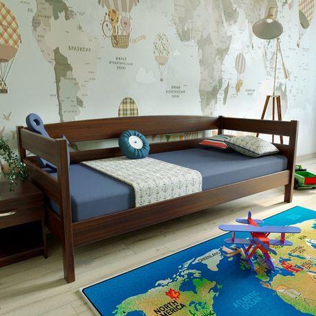 Ліжко «Лев» з дерева Вільхи (є в наявності) + БЕЗКОШТОВНА ДОСТАВКА
