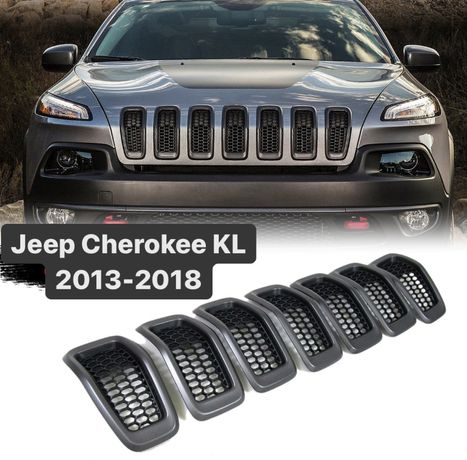 Решетка капота  Jeep Cherokee KL 2013- 5RB21XS9AB