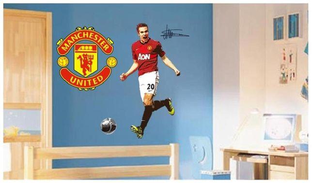 Naklejki na ścianę ścienna Van Persie Manchester United piłkarz