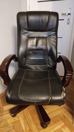 Fotel Biurowy obrotowy bujany