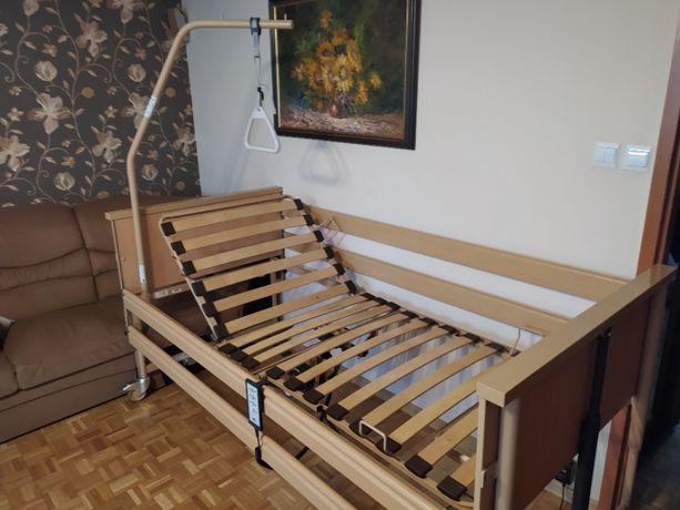 Łóżko medyczne, rehabilitacyjne - z elektryczną regulacją