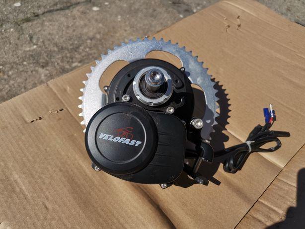 Silnik rower elektryczny zestaw do konwersji middrive centralny