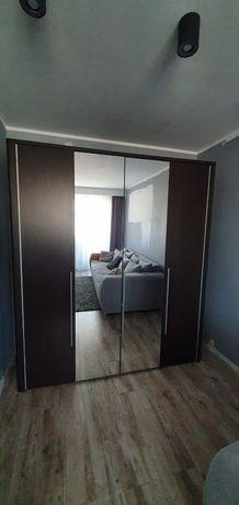 4 drzwiowa szafa wenge Voltera Agata, lustra 60cm