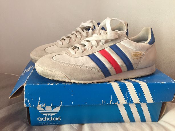Tenis Adidas Originals Dragon 43 1/3 vintage
