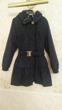 Пальто-плащ, куртка LENNE ROOSI р.128/134 в состоянии нового