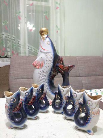 Радянський сервіз рибки