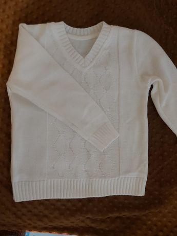 Sweter biały Komunia