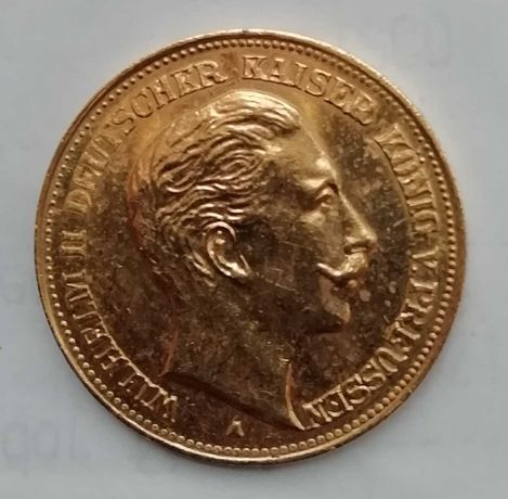 Moeda ouro 20 Marcos 1906 Alemanha