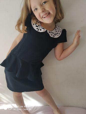 Mari & maks платье школьное 7-8 лет 122-128 см