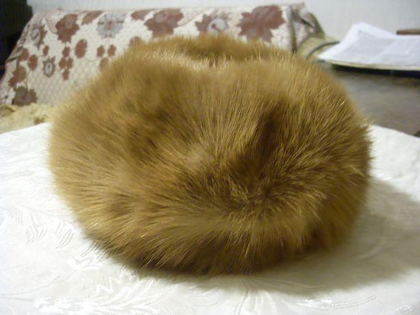 шапки из меха норки (4шт)