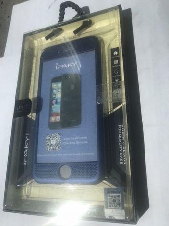 Etui pokrowiec IPhone 7- szkło, przód i tył