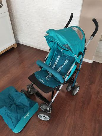 Spacerówka składana parasolka Baby Design Travel Turkusowy, okazja