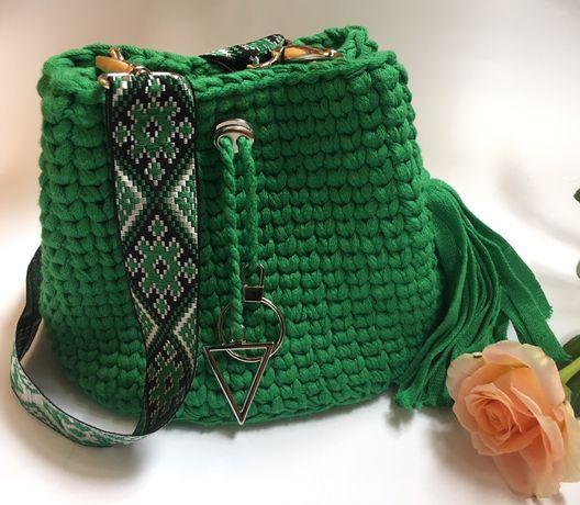 Зелёная сумочка