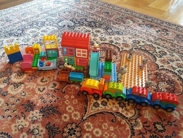 Klocki Lego Duplo Misateczko plus 4 Auta