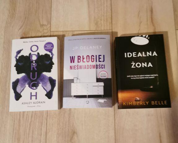 Zestaw trzech książek: Audrain, Delaney, Belle