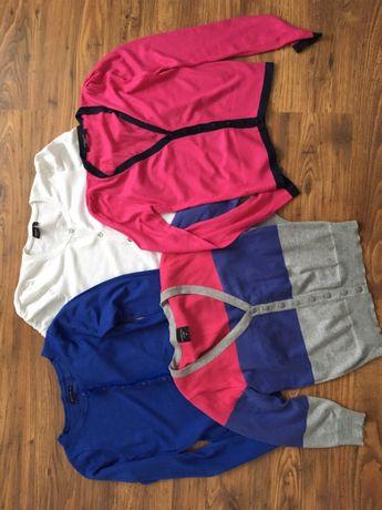Zestaw 4 sweterków rozpinanych, mohito, reserved, kappahl rozmiar S\ M