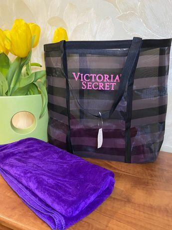 Пляжная сумка - сетка Виктория Сикрет Victoria s Secret
