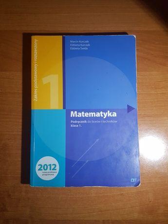 Podręcznik do liceów i techników Matematyka 1 Pazdro