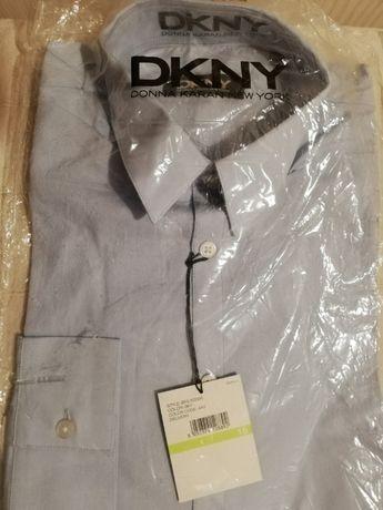 nowa koszula DKNY błękitna