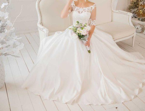Продам отличное свадебное платье / продам гарну весільну сукню