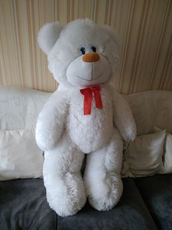 медведь белый 100 см