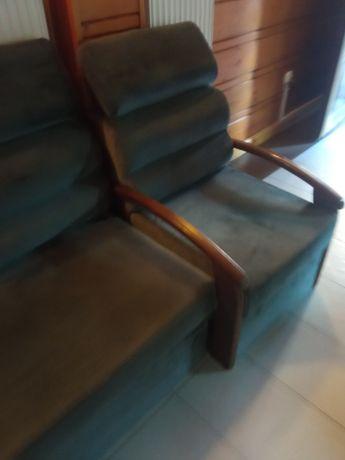 Kanapa sofa  i fotel