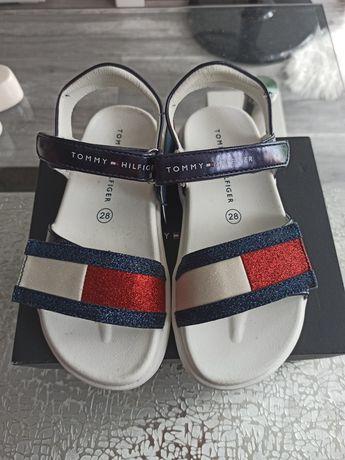 Nowe sandalki sandaly Tommy Hilfiger dziewczynka 28
