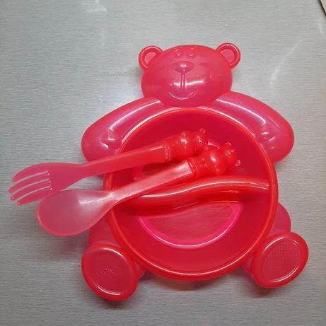 Набор детской посуды Канпол беби