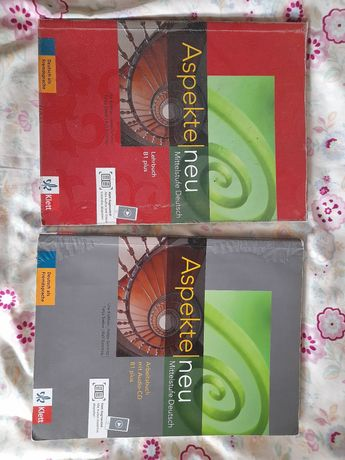 Учебник и тетрадь  по немецкому ASPEKTE 1 NEU B1+ LEHRBUCH OHNE DVD