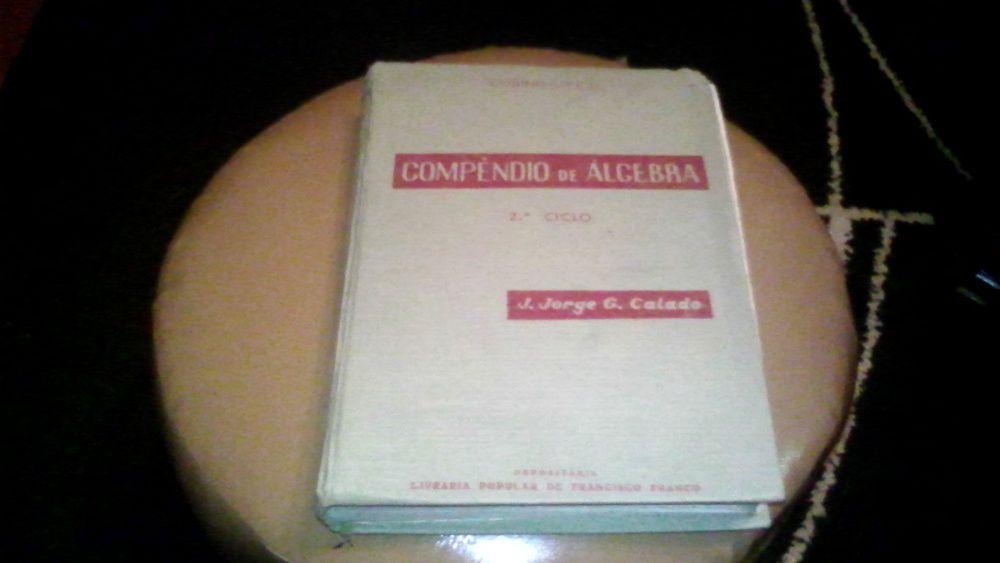 Compêndio de Álgebra, de 1954 Miranda do Corvo - imagem 1