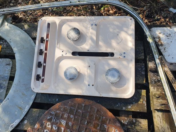 Kuchenka gazowa z grilem
