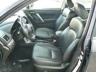 Салон кожа Subaru Forester 2015 S13, субару форестер разборка, сиденья