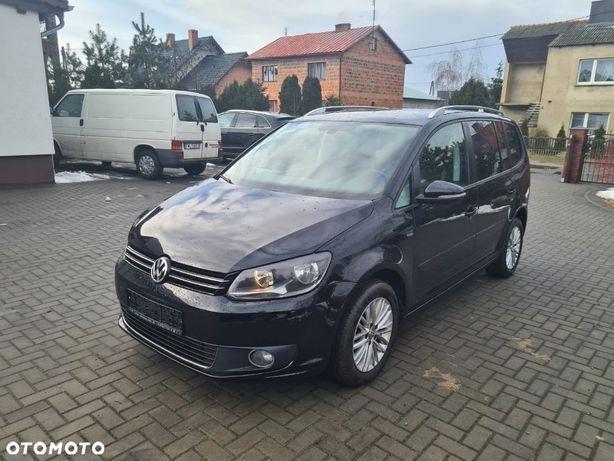 Volkswagen Touran 1.6 TDI, 105KM, klimatronik, dwa kluczyki