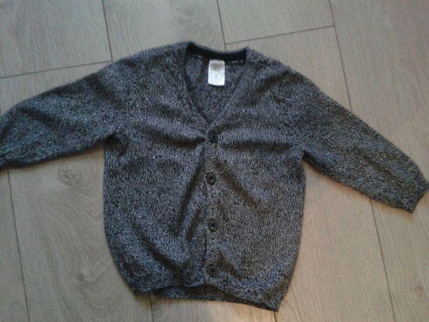 Swetr sweterek kadigan swieta chrzest HM r74
