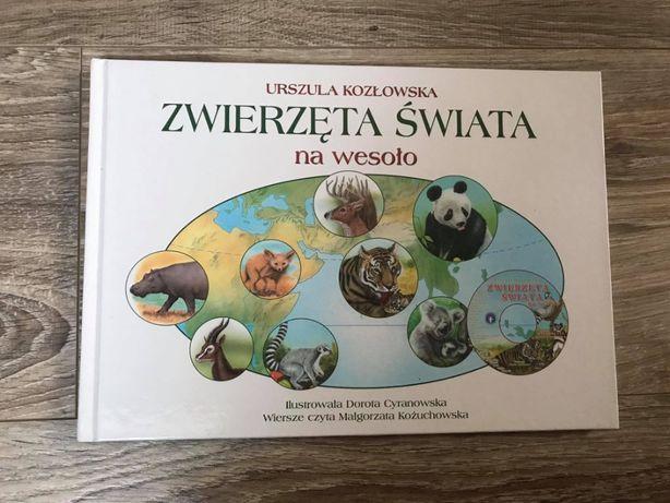"""""""Zwierzęta świata na wesoło"""" - Urszula Kozłowska"""