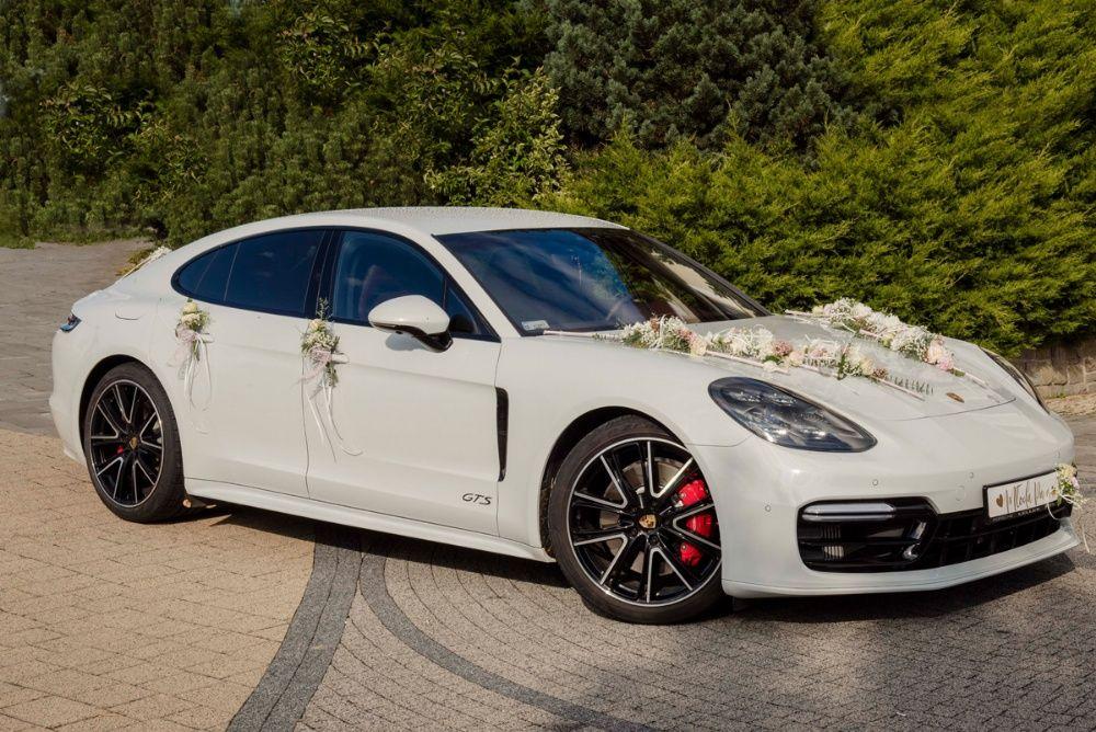 Auto do ślubu / Porsche Panamera GTS / Mercedes CLA / BMW 428i Słopnice - image 1