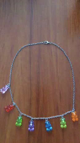 Naszyjnik z żelkami
