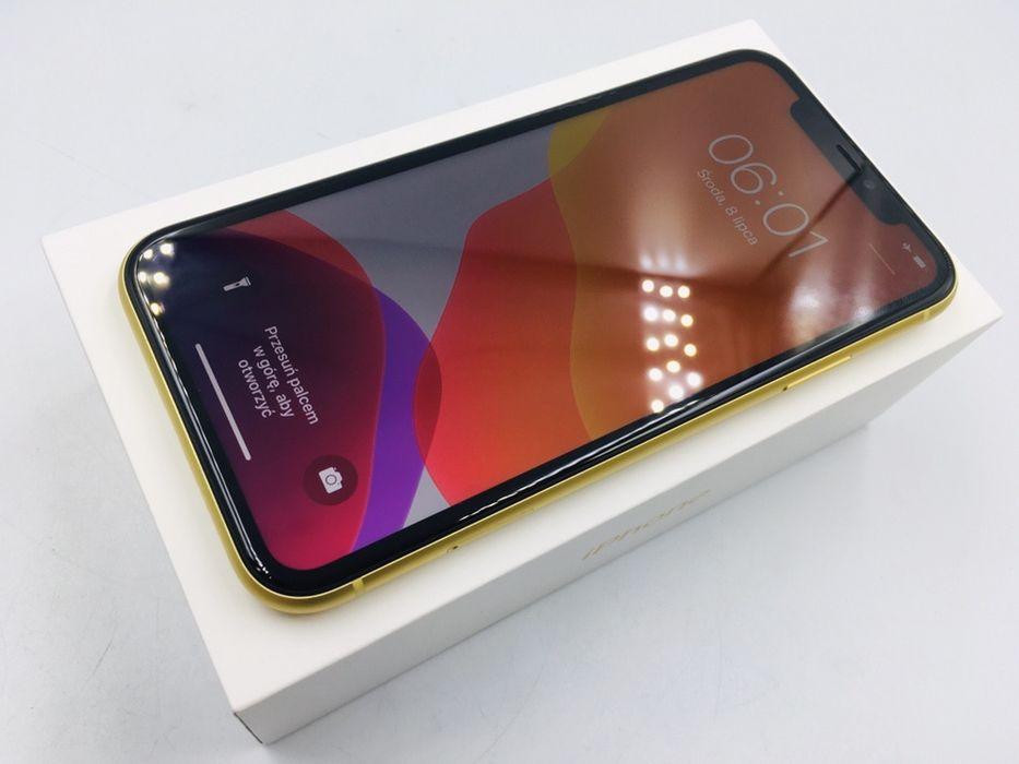iPhone 11 64GB YELLOW • PROMOCJA • GW do 10.05.22 1 MSC • AppleCentrum Wrocław - image 1