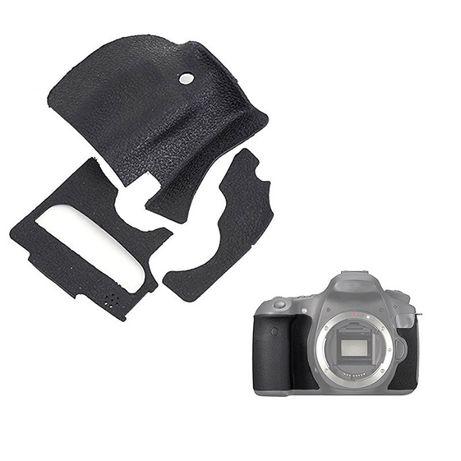 Borracha punho grip corpo de maquinas fotograficas Canon Nikon Sony