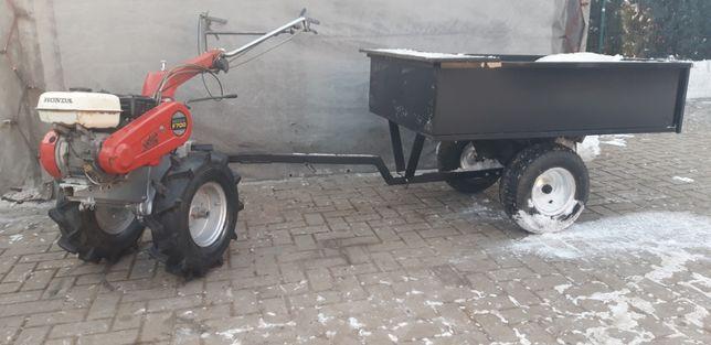 Traktorek Dzik Glebogryzarka Honda Kubota Iseki Pług