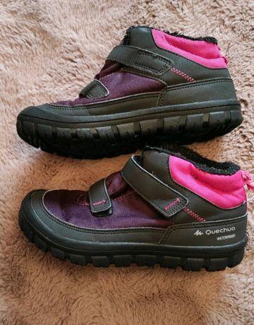 Buty dziewczęce zimowe 32 wodoodporne Decathlon