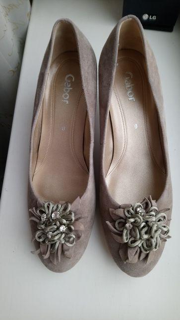 Туфли кожаные ,фирма Gabor ,стелька 25 см