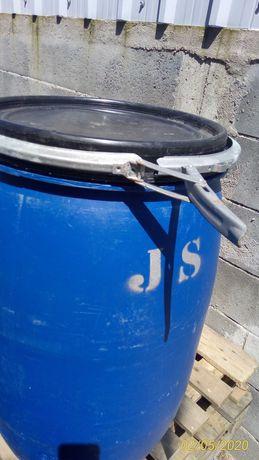 Depositos 100 litros com tampa e cinta